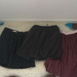 Lot of 3 Lovely Skirts 🎉❤️ Zara Girls Collection